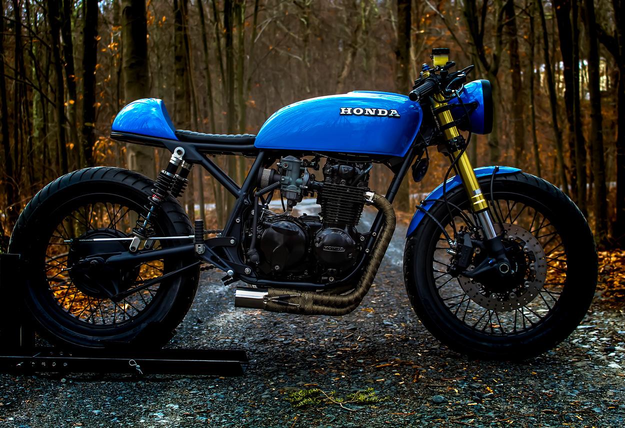Honda Cb550 Md01 By Motodesign Bikebound