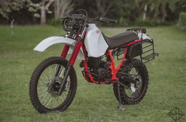 Honda XR200 Adventure Scrambler