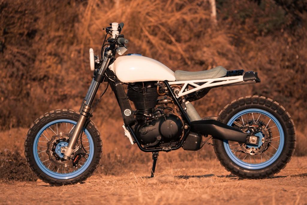 Urban Scrambler Royal Enfield Classic 500 By Moto Exotica Laptrinhx