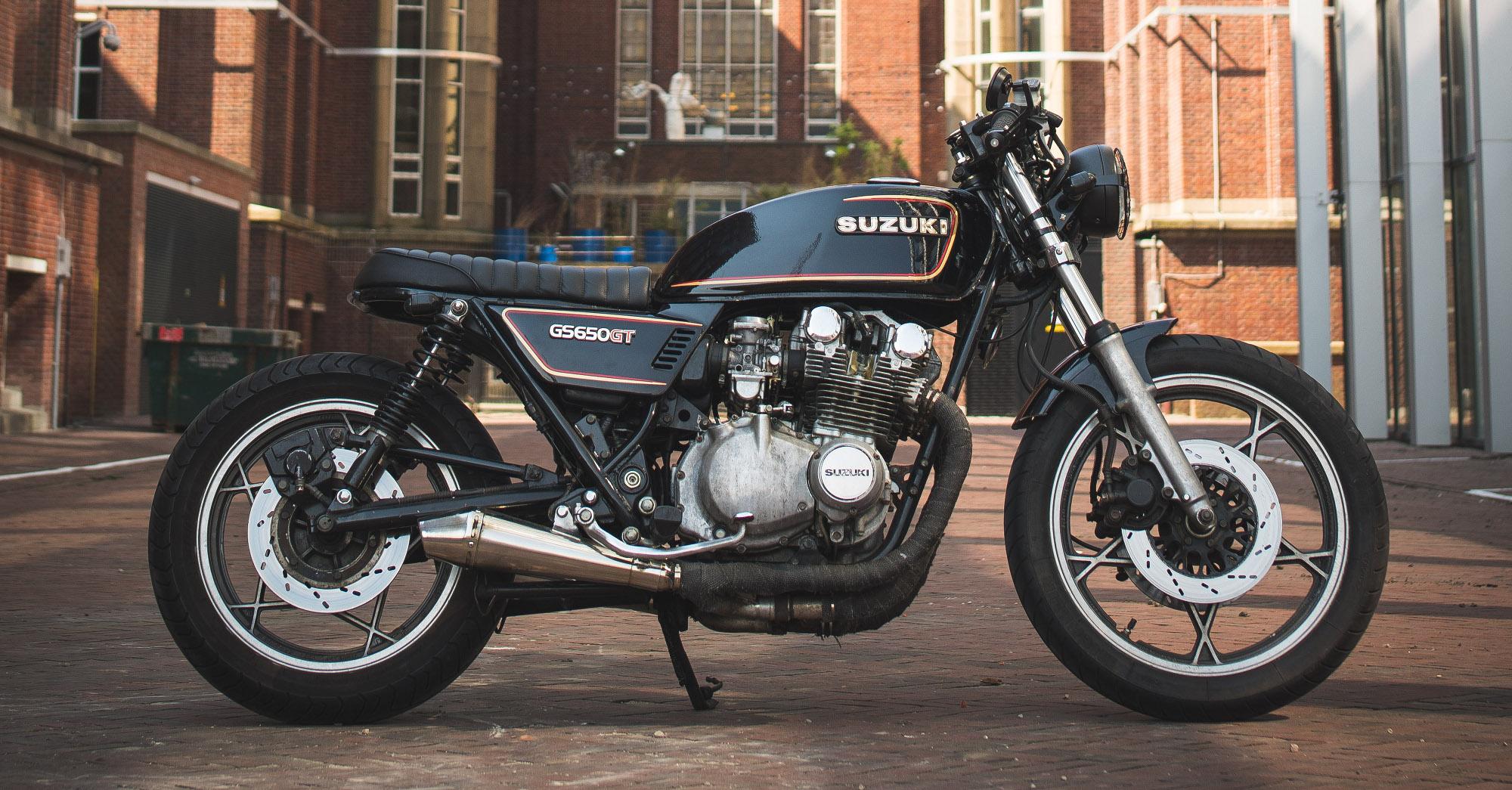 suzuki gs650gt custom by esther schuijt \u2013 bikebound 1979 Suzuki Motorcycle Parts