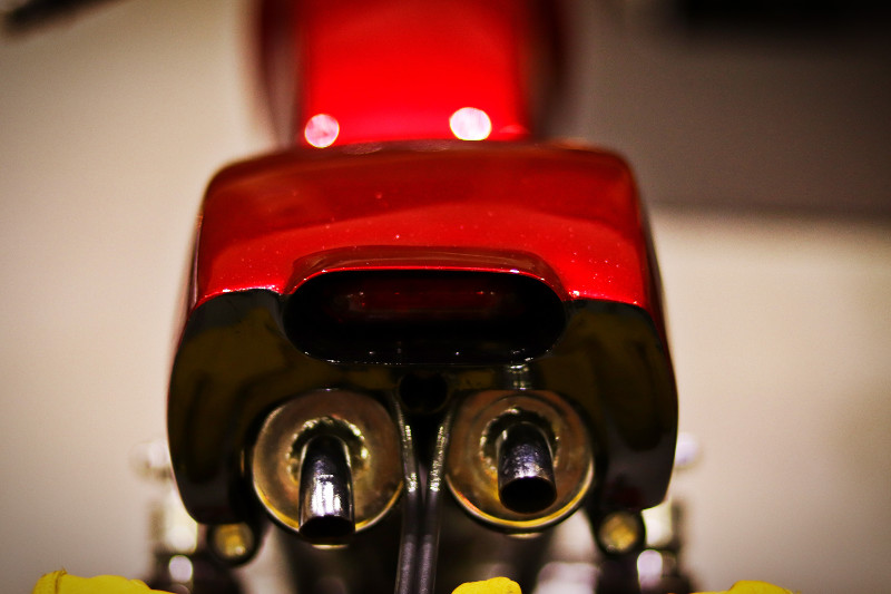 SYM Wolf 125 Cafe Racer