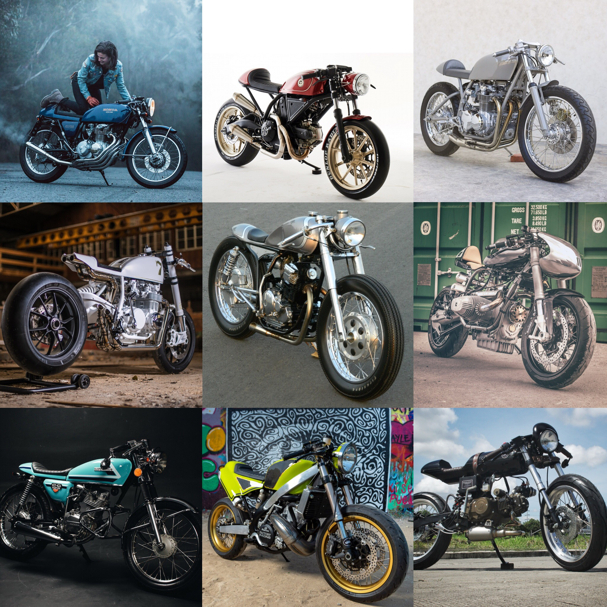 Top 10 Cafe Racers of 2018
