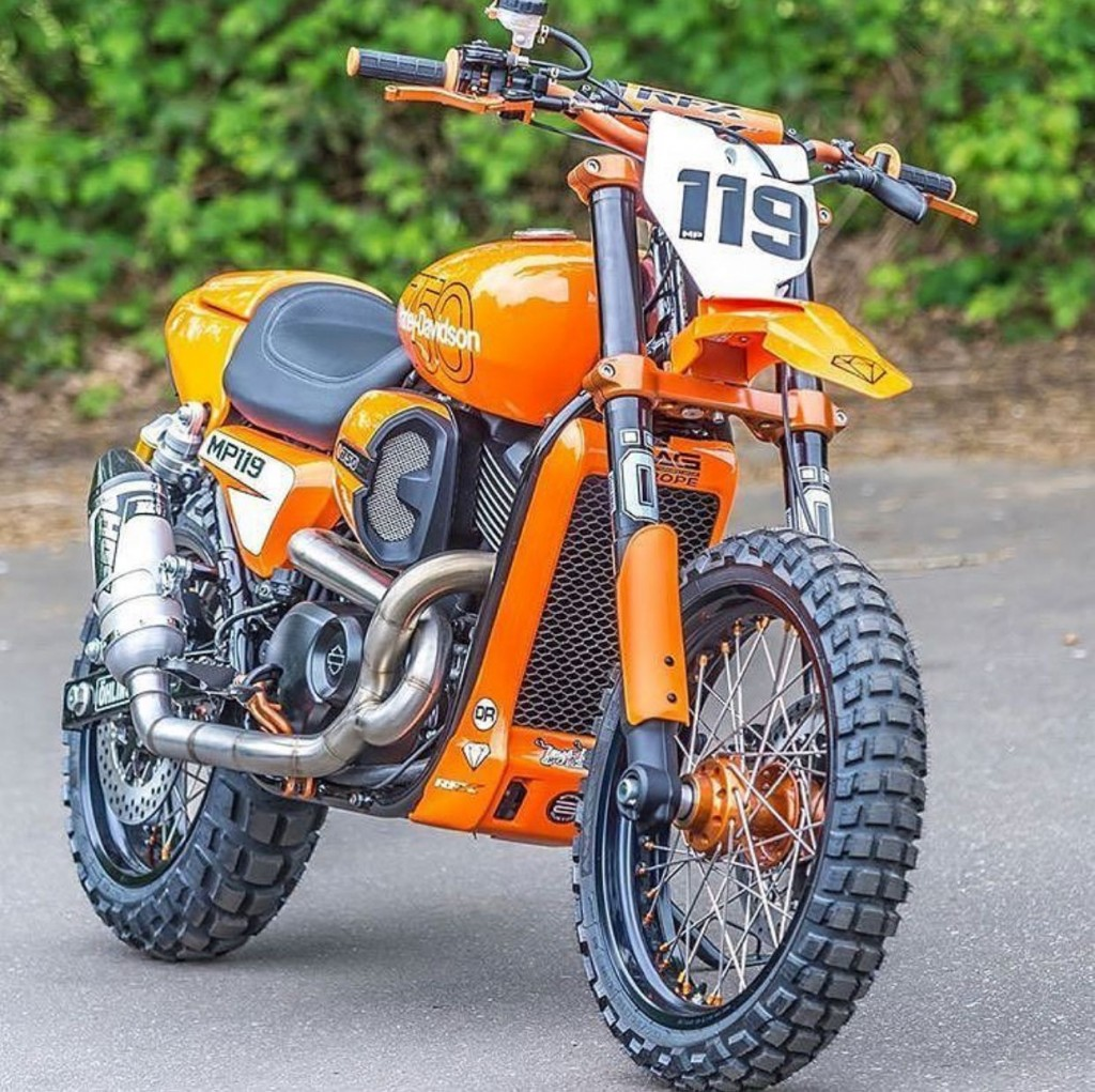 Street Rod 750 Dirt Bike