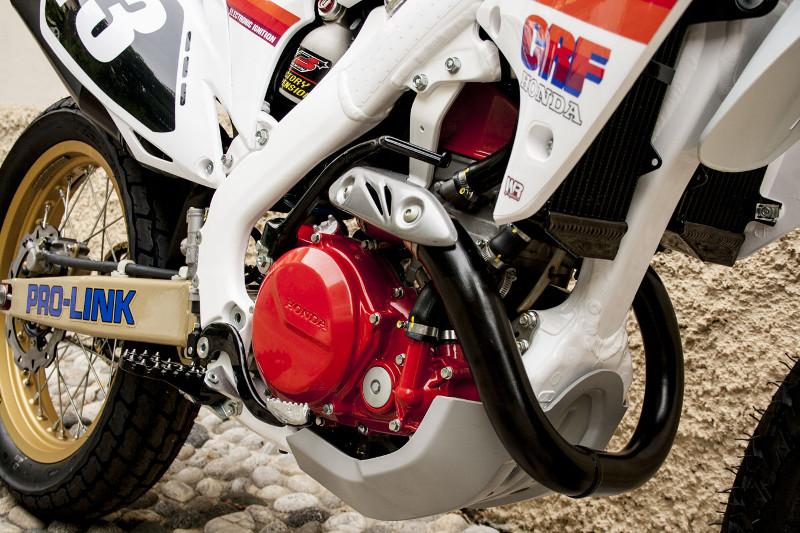 Honda CRF450 Street Tracker