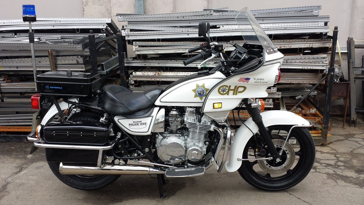 Air Cooled Interceptor Kawasaki Kz1000p Police Special