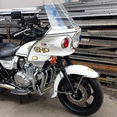 Kawasaki KZ1000P Police Bike CHiPs