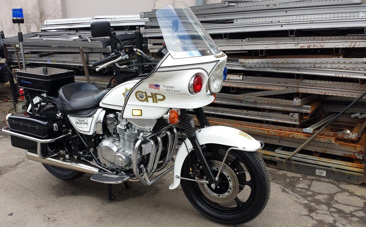 Air-Cooled Interceptor: Kawasaki KZ1000P Police Special