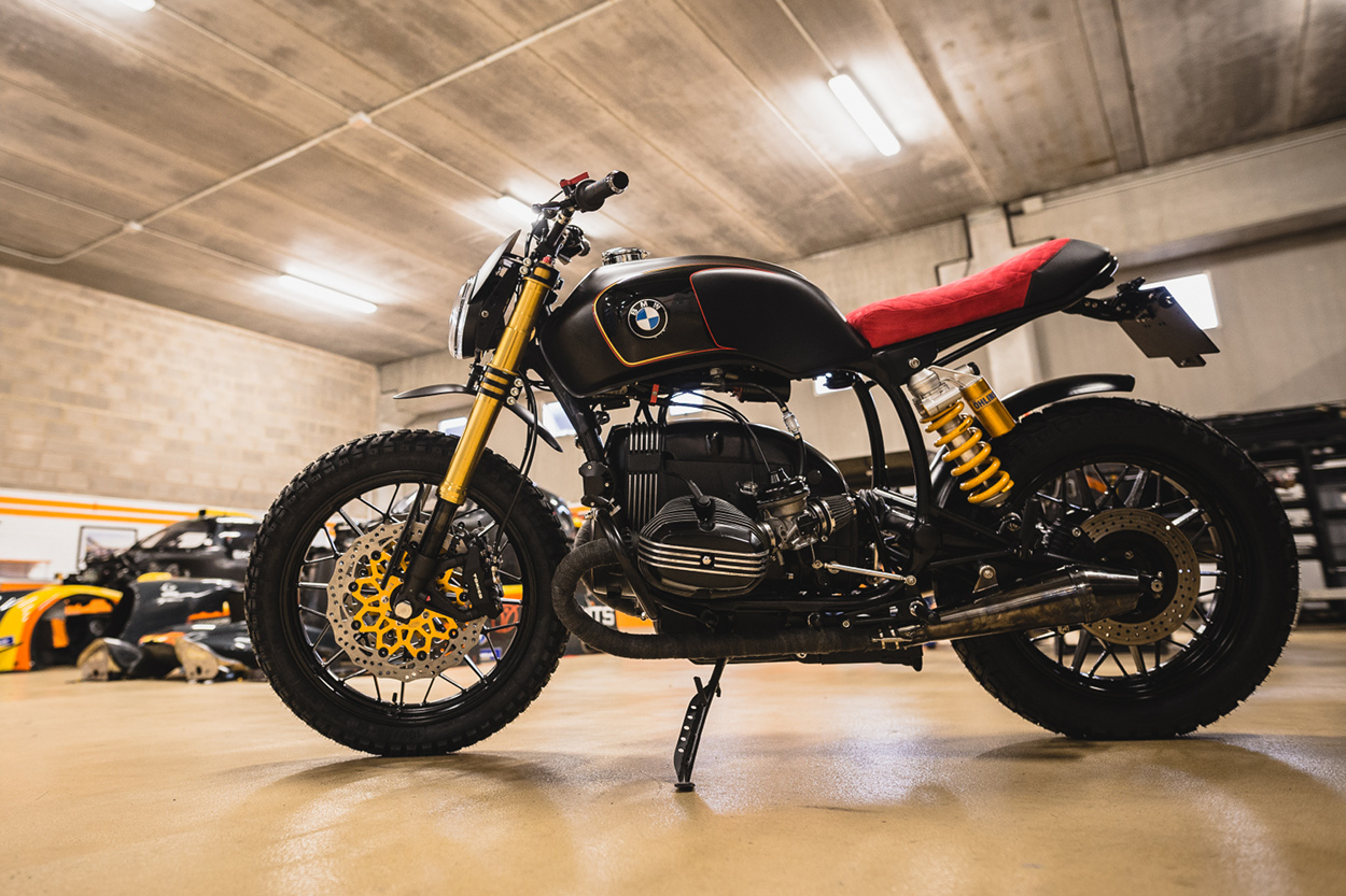 """La Primera"""" BMW R100 Scrambler by Anathem Garage – BikeBound"""