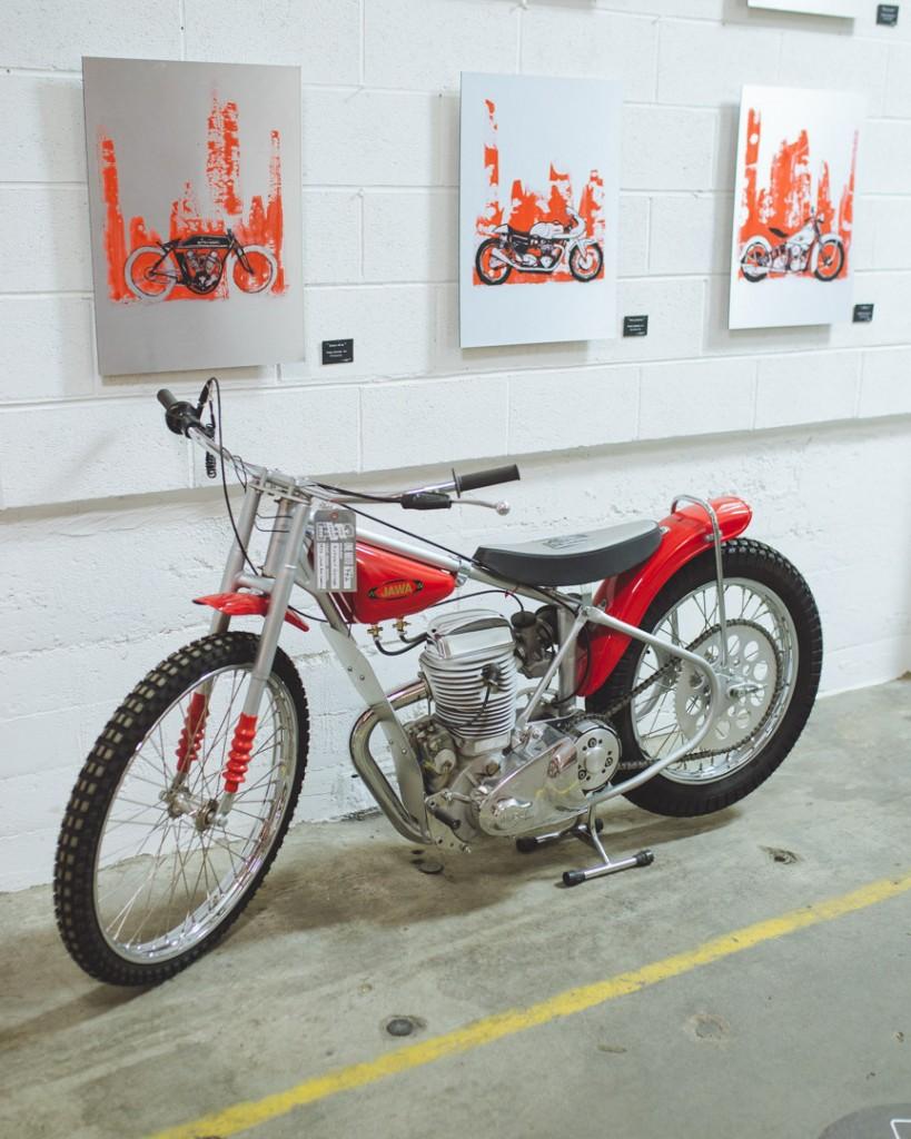 1972 Jawa 500 Speedway by Kickstart Garage