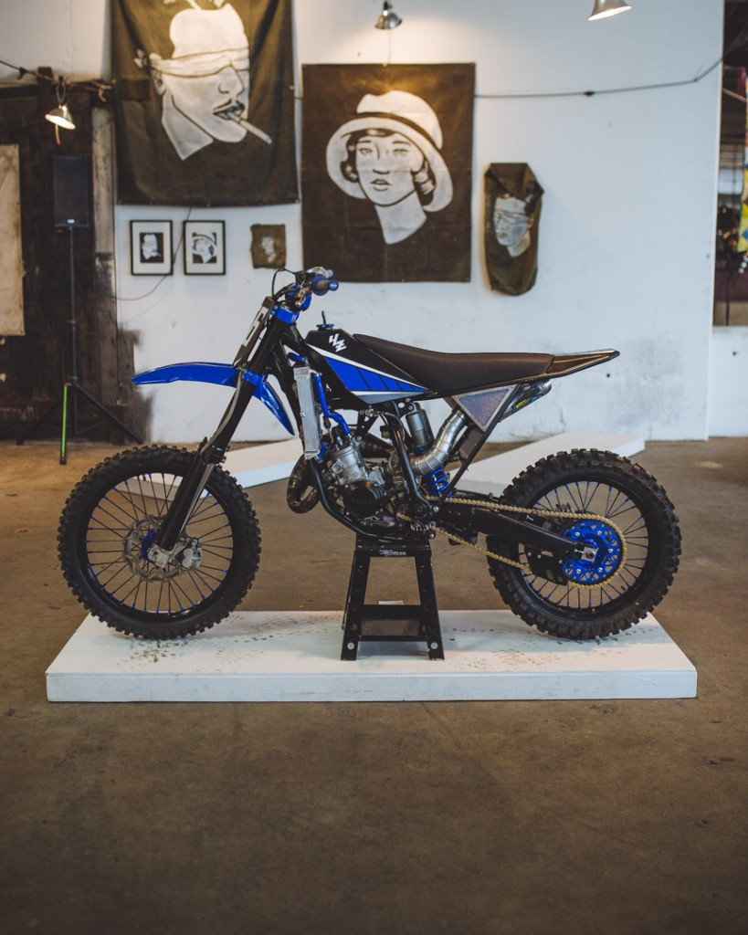 1993 Yamaha YZ125 by Max Miille