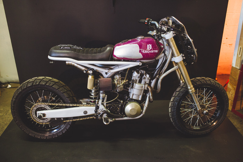 2001 Husky by Moto Mucci