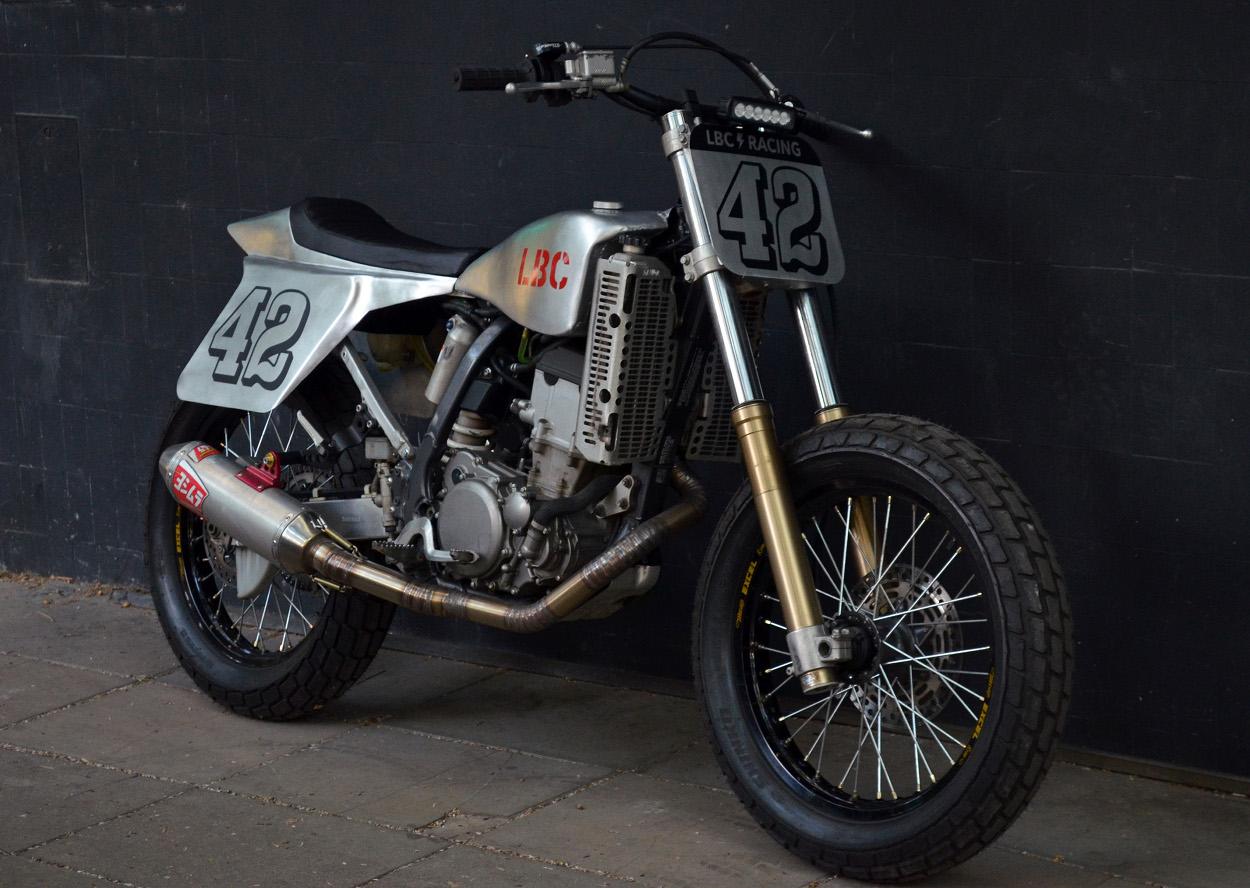 Suzuki DR-Z400 Street Tracker by LBC Motorcycles – BikeBound