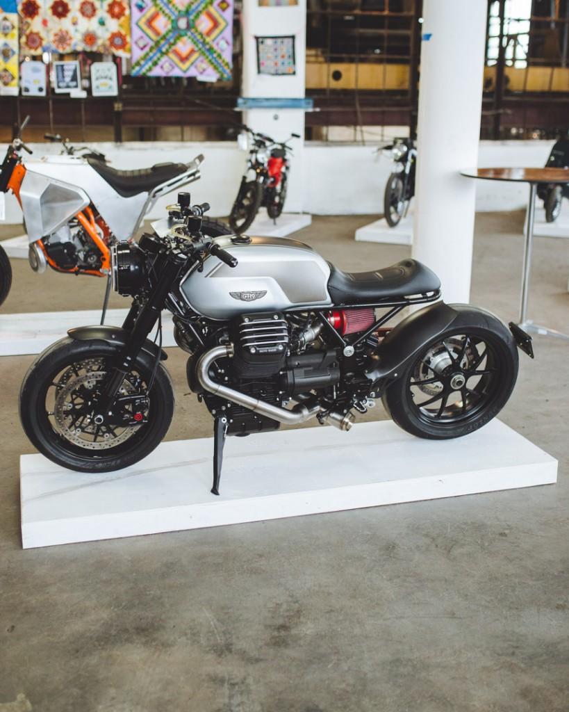 Custom Moto Guzzi by Todd Eagon