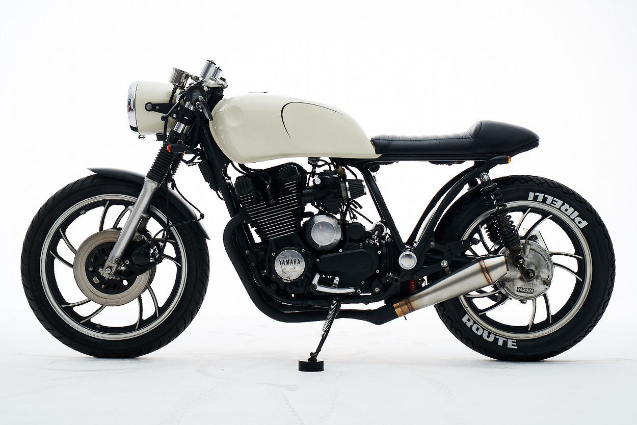 yamaha maxim cafe racer. Black Bedroom Furniture Sets. Home Design Ideas