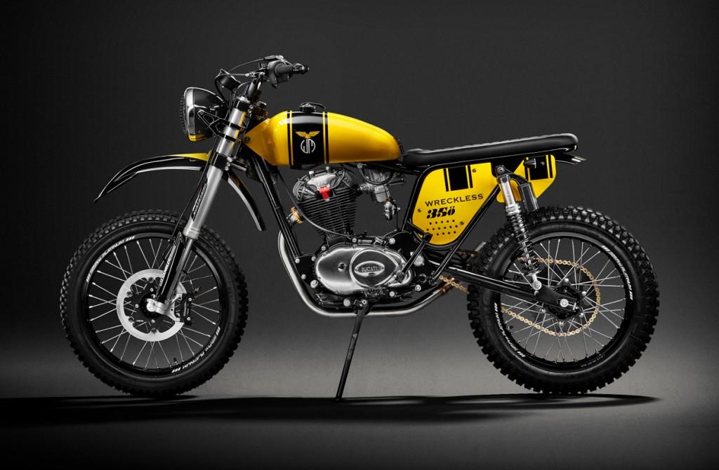 Ducati 350 Widecase Scrambler