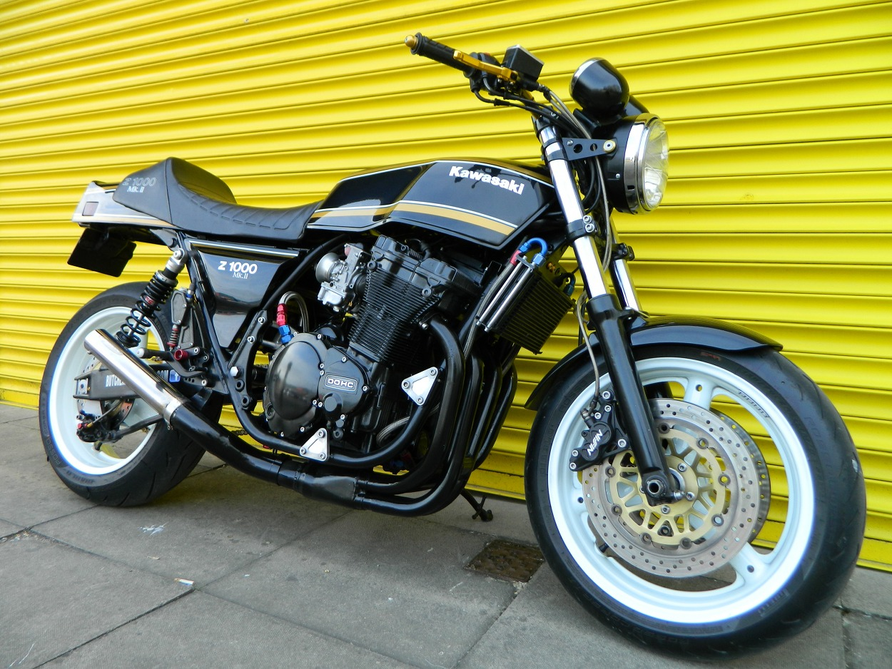 Kawasaki Z1000H Restomod by Butchered Classics – BikeBound