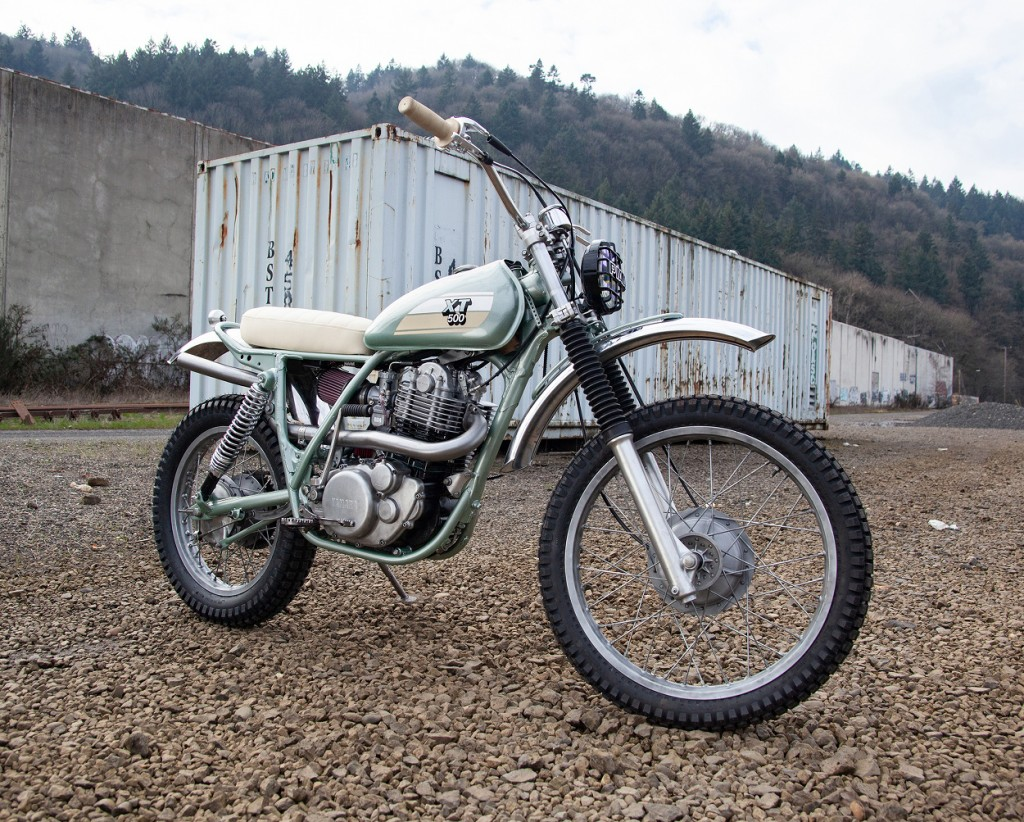 Yamaha XT500 Customs