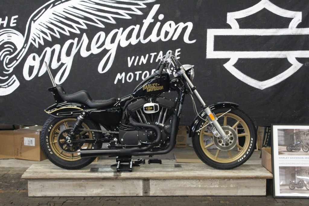 2019 Iron 1200 Giveaway Bike, built by Prism Supply x DicE Magazine.