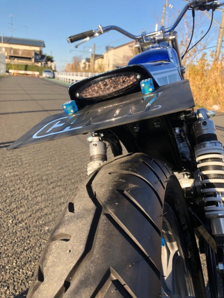 Yamaha SR400 Street Tracker