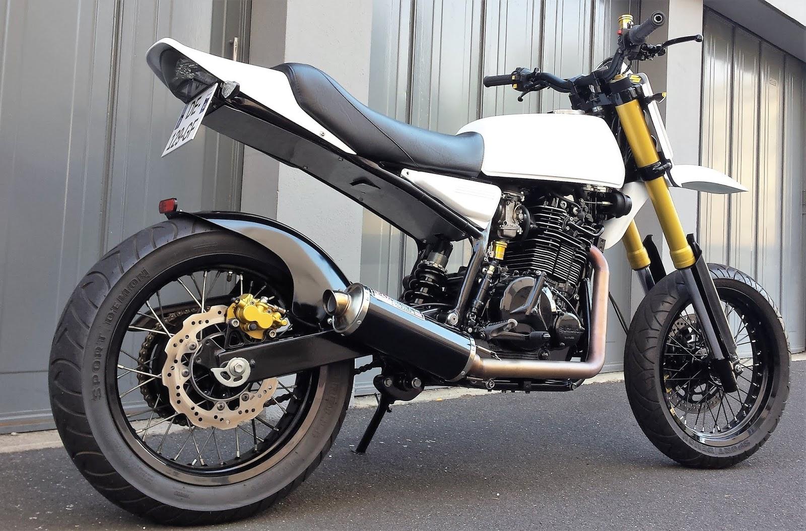 """Big One"""": Suzuki DR800 Scrambler by YC Design – BikeBound"""