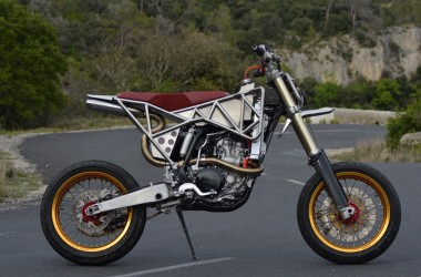 Yamaha WR450 Supermoto Custom