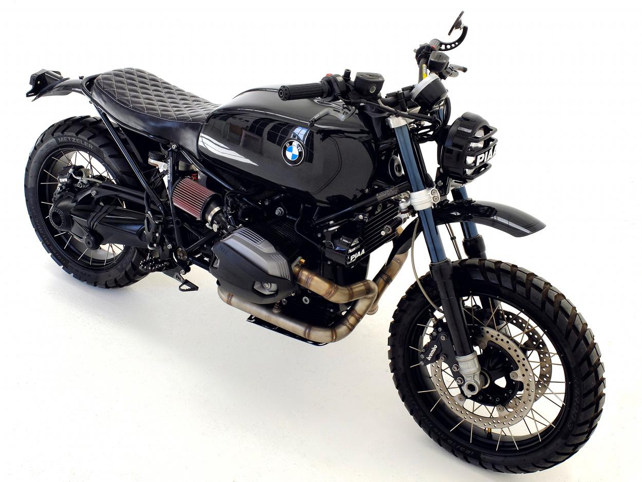 Bmw R Ninet Street Scrambler By Herencia Custom Motors Bikebound
