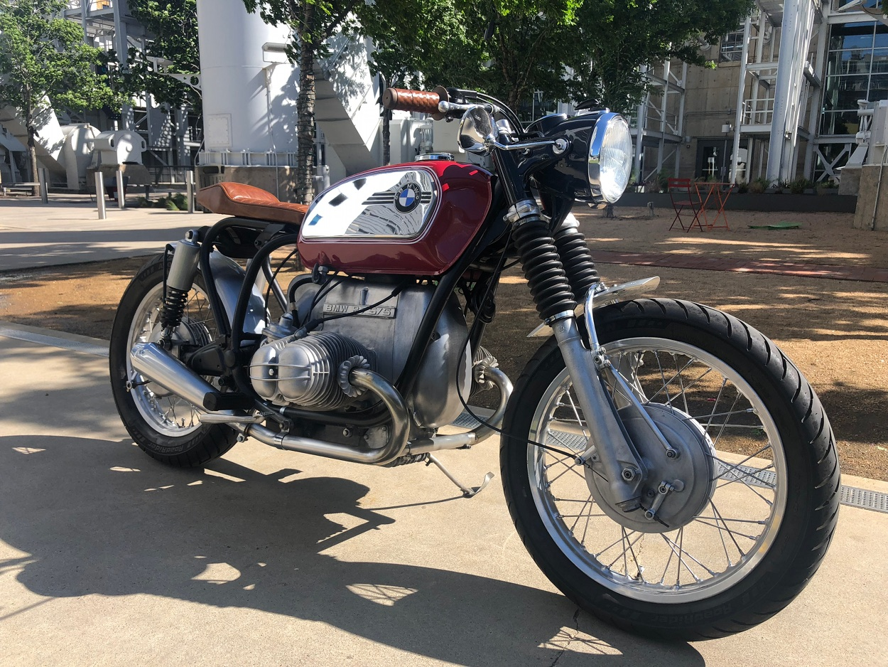 """Enter Duc Tran of Texas, a garage builder and family man whose BMW R65 urban tracker we featured last year. As Duc says, this 1973 BMW R75/5 """"descended"""" on ..."""
