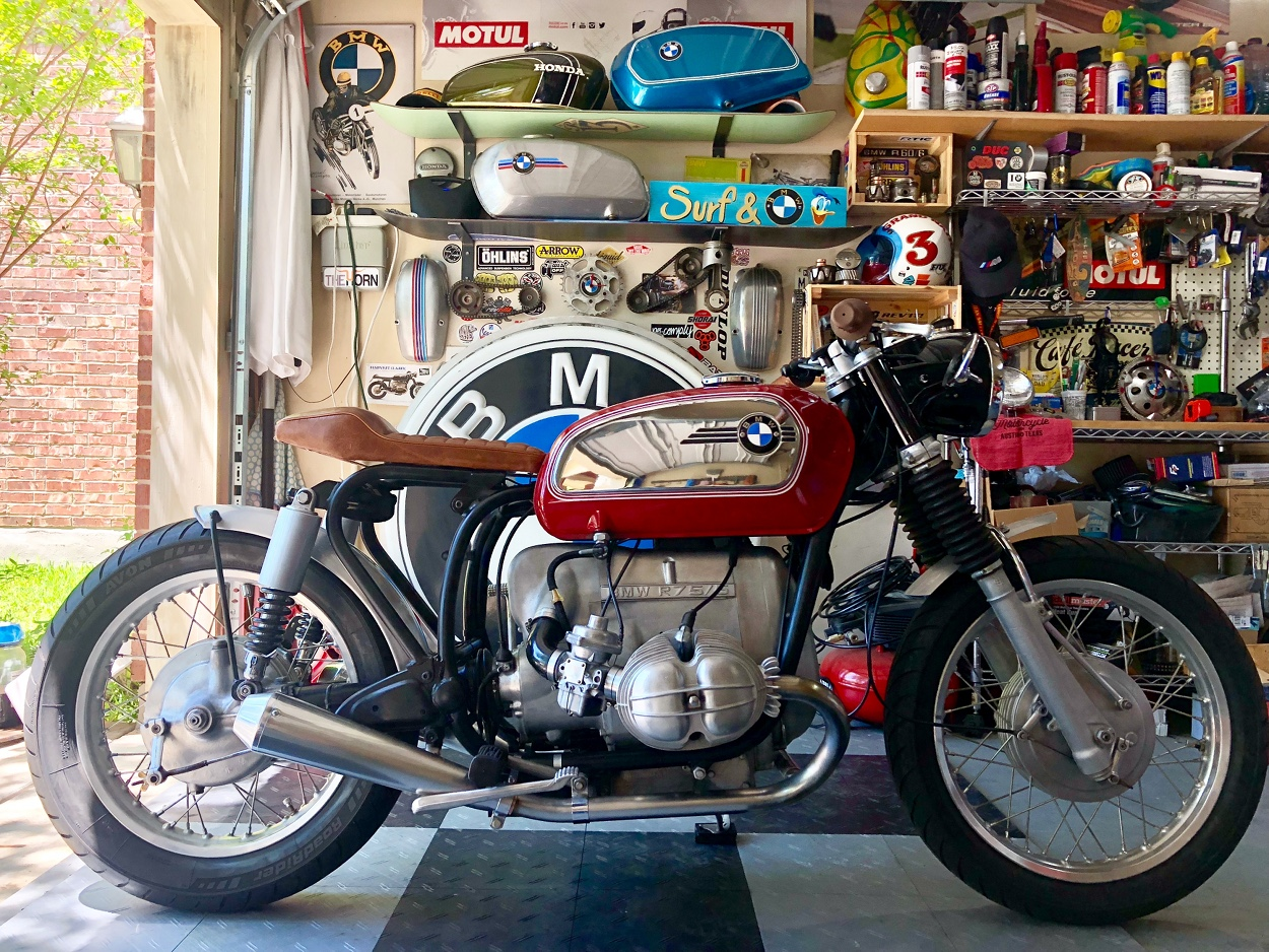 BMW R75/5: In the Builder's Words. BMW R75/5 Cafe Racer