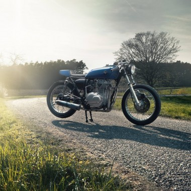 Honda CJ360 Cafe Racer