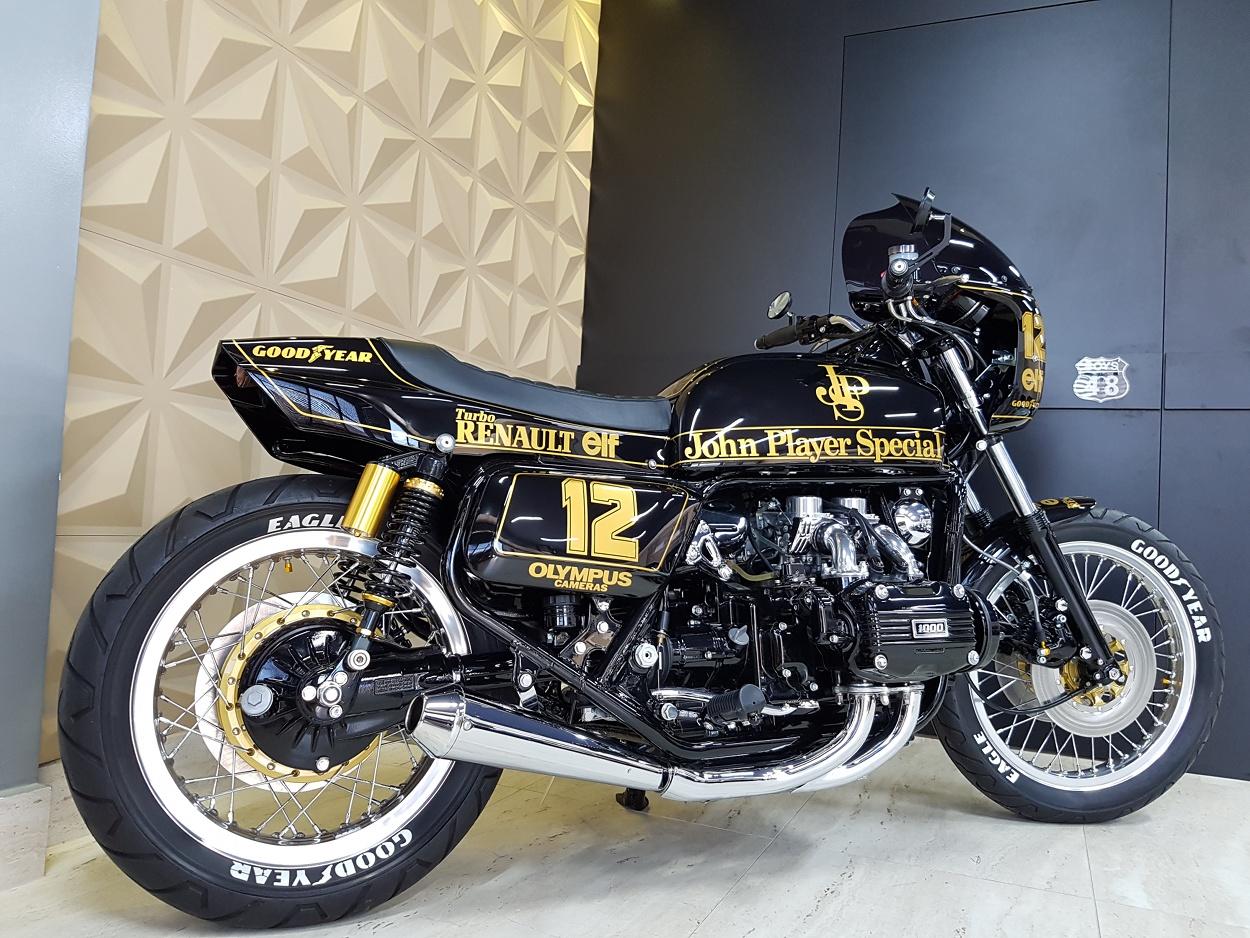 John Player Special Honda Goldwing Cafe Racer By Abila Kustom Bikebound