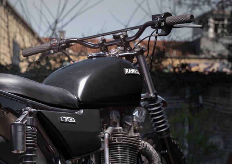 Kawasaki Z750 Scrambler