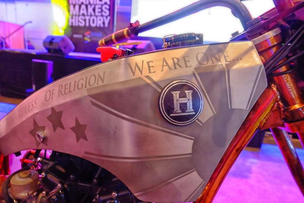 Marawi Heroes Custom Motorcycle