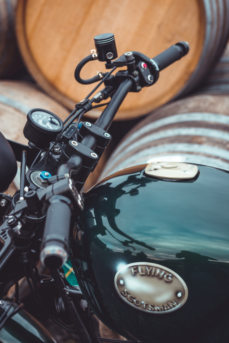 Moto Guzzi V65 Scrambler