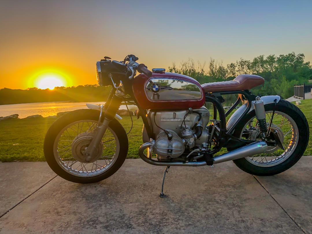 Introduced in 1970, the R75/5 was the largest BMW motorcycle of the time, offering a 750cc, 50-horsepower boxer engine capable of pushing the machine to 110 ...