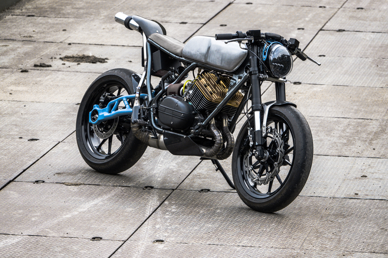 Track Racer: Yamaha RD350 by Moto Exotica – BikeBound