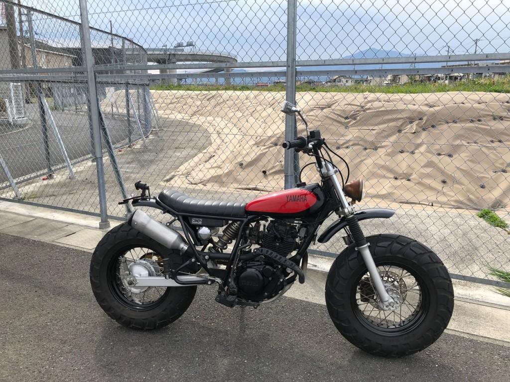 Yamaha TW125 Scrambler
