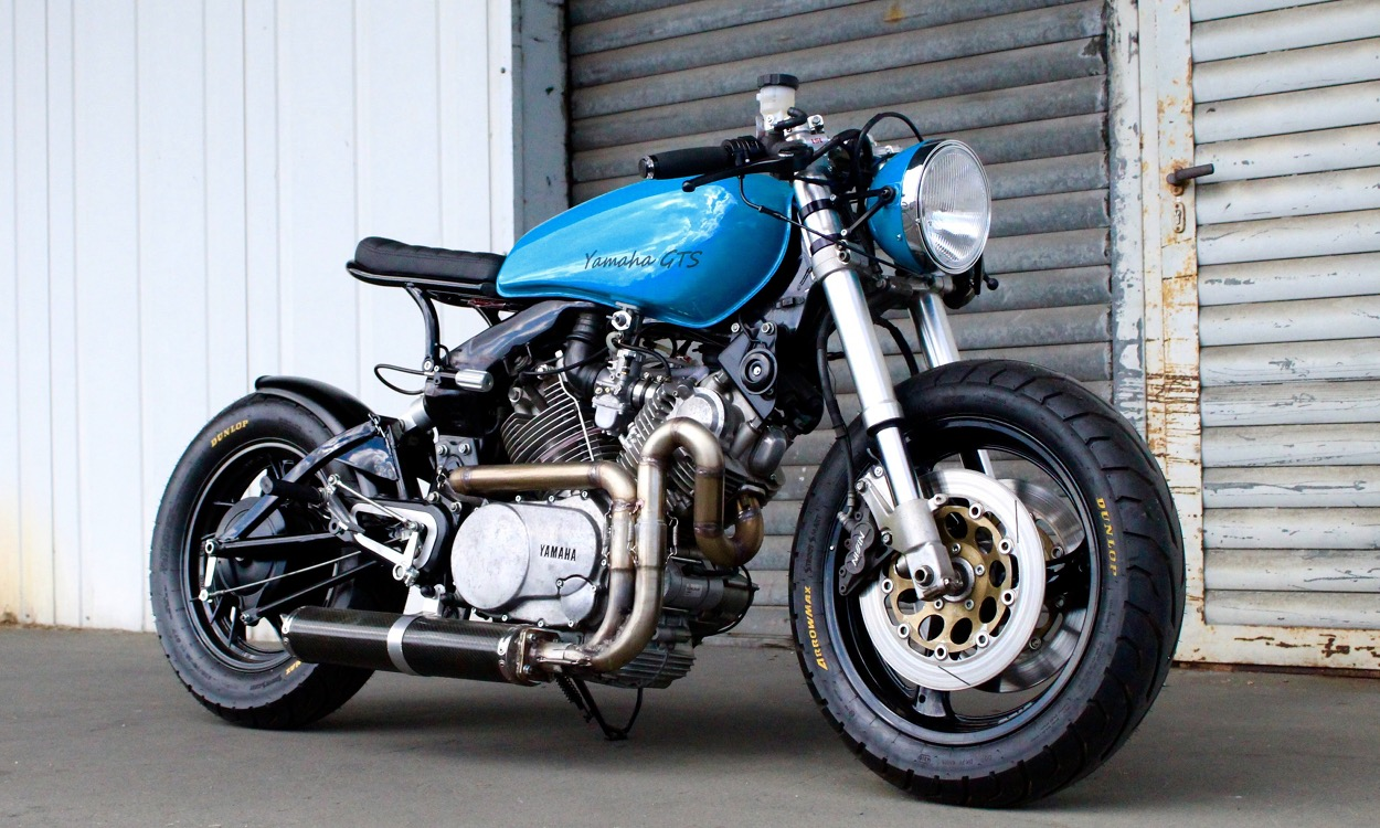 "Yamaha Virago 750 ""GTS"" by 074 Customs – BikeBound"