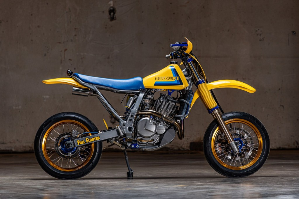 Suzuki DR650 by Parr Motorcycles