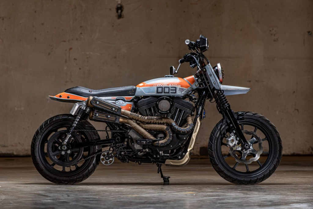 "Sportster 1200R ""Ovrlandr"" by Combustion Industries"