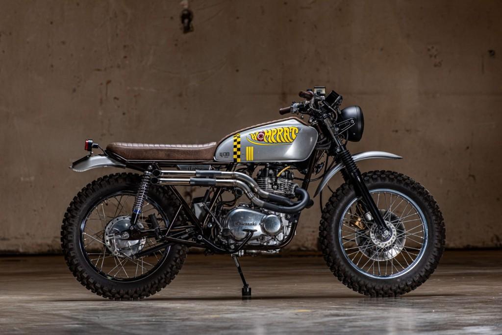 "Kawasaki KZ400 ""Womp Rat"" by AspiRe Cycle"