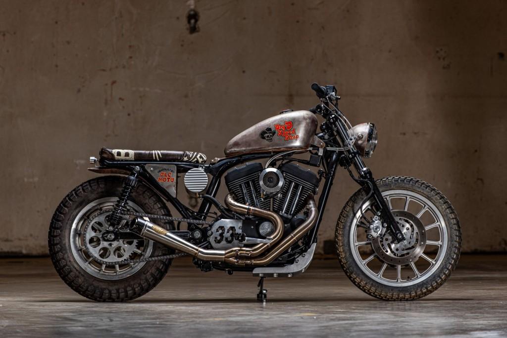 Harley-Davidson Sandster by OLC Moto / Big D Speedshop