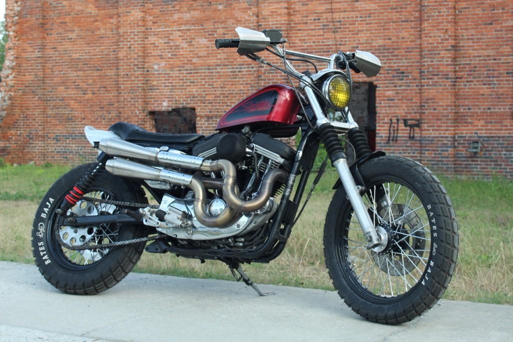 Harley Sportster Scrambler