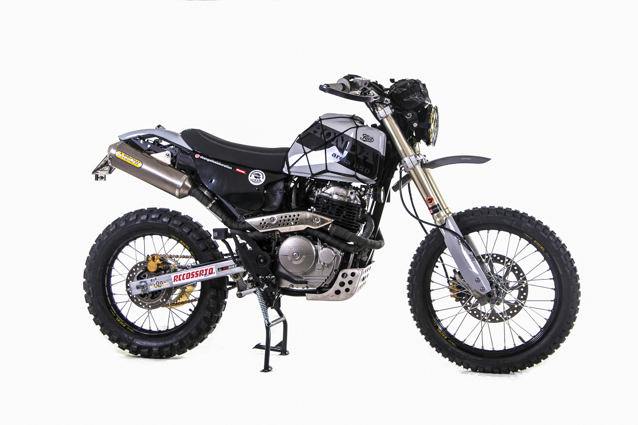 sand 650 honda fmx 650 desert sled bikebound. Black Bedroom Furniture Sets. Home Design Ideas
