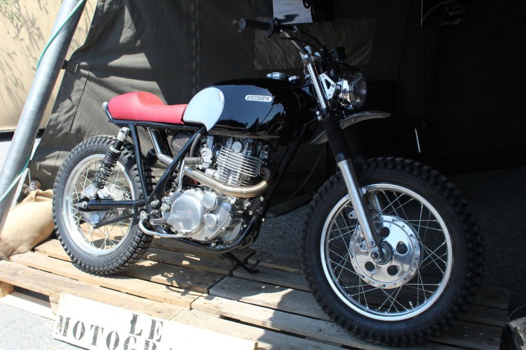 Yamaha SR by Le Motographe