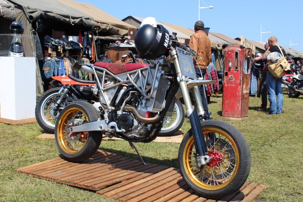 """Yamaha WR450 """"Skeleton"""" by Le Motographe"""