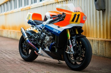 BMW S1000RR Retro Track Bike