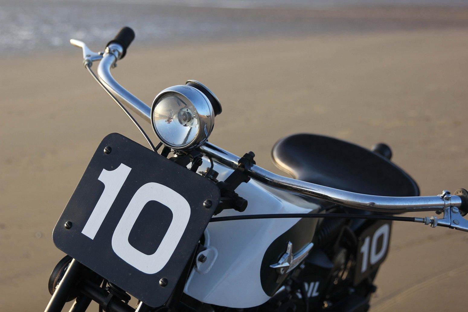 Beach Racer: Ironhead Sportster by Hoxton Moto – BikeBound