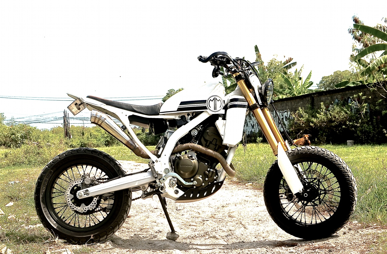 Bad Mother Honda Crf250 Supermoto By Malamadre