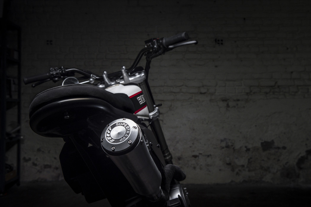 Urban Hooligan: Honda FMX 650 by TOMA Customs – BikeBound