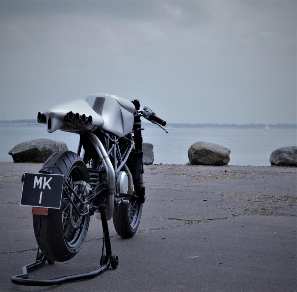 KTM 690 Duke Cafe Racer